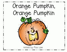 First Grade a la Carte: Orange Pumpkin, Orange Pumpkin