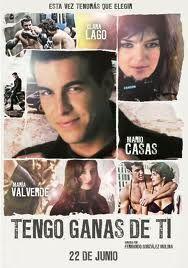 """Pelicula Española """" Tengo Ganas de Ti """" con Mario Casas, María Valverde y Clara Lago."""