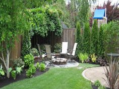 Back Yard Ideas for Small Yards With Grass More