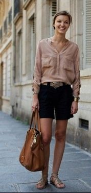 From the Sartorialist. one of my favourite summer outfits. Street Style Outfits, Looks Street Style, Summer Fashion Outfits, Cute Summer Outfits, Mode Outfits, Looks Style, Spring Summer Fashion, Casual Summer, Summer Clothes
