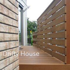 神奈川県平塚市T様邸エクステリア施工例/木製横板貼りフェンス-アップ