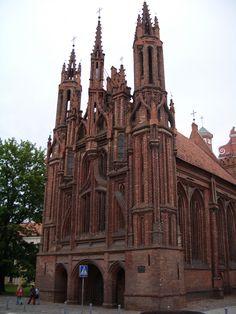 Vilnius, Lithuania - my favorite church