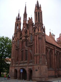 St Anne's Church, Vilnius, Lietuva