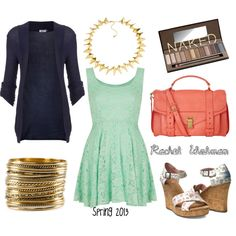 """Spring 2013"" by rachelwolman on Polyvore"