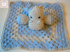 Pattern Free Baby Blanket Hippos. Come to know us for our facebook  and website. Patrón gratis Mantita de Apego Hipopótamos. Pasa a conocernos por nuestro facebook y sitio web. www.tarturumies.com https://www.facebook.com/Tarturumies