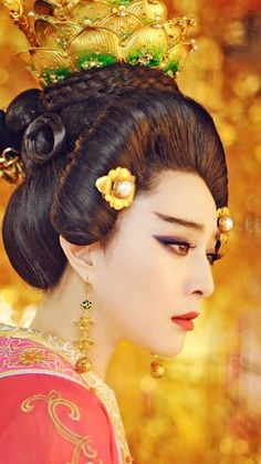 from the movie Empress of China The Empress Of China, Fan Bingbing, Chinese Clothing, Ancient China, Chinese Actress, Chinese Culture, Historical Costume, Hanfu, Chinese Style