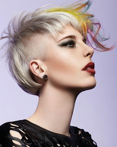 Punk color are back this season