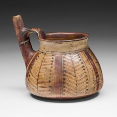 Inca South coast or southern highlands, Peru  Miniature Vessel, 1450/1532