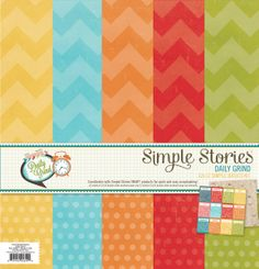 Simple Stories | Daily Grind | 12x12 Simple Basics Kit