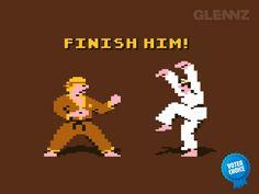 International Karate meets Karate Kid meets Mortal Kombat.