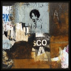 Squares by M. Squares, Mixed Media, Collage, Painting, Art, Art Background, Collages, Painting Art, Kunst