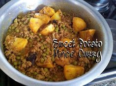 Sweet Potato Mince Curry recipe by Ruhana Ebrahim posted on 20 Feb 2017 . Recipe has a rating of by 3 members and the recipe belongs in the Beef, Mutton, Steak recipes category Halal Recipes, Steak Recipes, Curry Recipes, Recipe Categories, Food Categories, Indian Curry, Curries, Sweet Potato, Spices