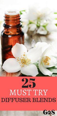 25 Essential Oil Diffuser Recipes
