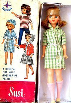 Brinquedo Anos 60 - Bonecas
