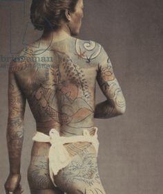 Nude Male Art Photos - Man with traditional Japanese Irezumi tattoo by Japanese Photographer Japanese Tumblr, Japanese Tatoo, Japanese Tattoos For Men, Traditional Japanese Tattoos, Japanese Tattoo Designs, Japanese Men, Japanese Models, Japanese History, Older Male Models