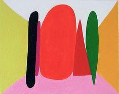 Andrew Masullo | 5365, oil on canvas, 8 x 10 inches