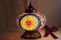 Lanterna turca mosaico colorato. Mille e una notte... Medioriente