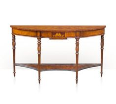 The Galleried Console Table