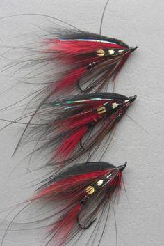 Claret Fox Wing Spey - Atlantic Salmon Spey Fly