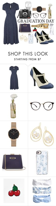 """""""graduation outfit"""" by lilah-lombardo ❤ liked on Polyvore featuring Cultural Intrigue, Daniel Wellington, Ippolita, Lanvin and Casetify"""