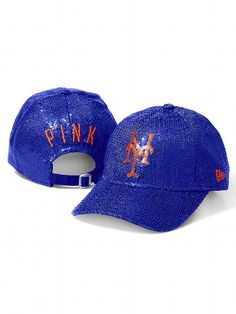 Cap it off #VSPINK #MLB #Bling #Mets