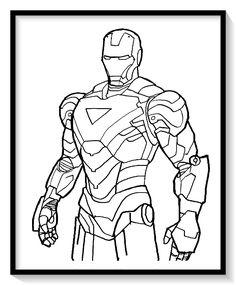 Las 72 Mejores Imagenes De Iron Man Para Colorear Iron Man Para