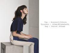 The photographer Mirja Zentgraf and the stylist Tamara ...