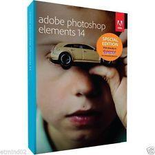 Adobe Photoshop Elements 14 Windows Mac in Retail Box Brand NEW