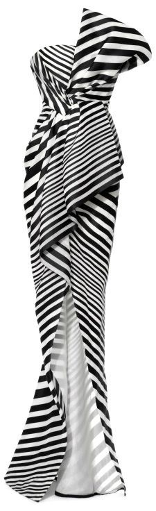 J MENDAL  Like No Other: Black & White and Striped All Over