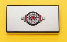 A diamond, coral and black enamel vanity case, by Lacloche Freres
