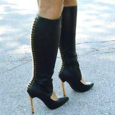 Privileged Gemma Knee High Heel Boots