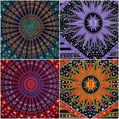 Indian Tapestry Wall Hanging Mandala Multi Colour Twin Size Tapestries UK Seller  | eBay