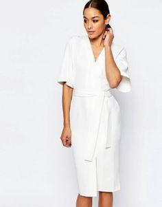 Clean-Obi-Wrap-Dress-with-V-Front-Ivory-Uk-10