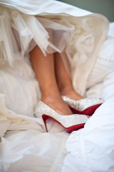 Love my wedding shoes