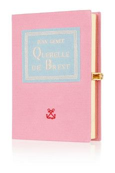 Olympia Le-Tan Querelle De Brest appliquéd canvas box clutch  | THE OUTNET