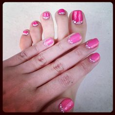 Bling bling galore ;). Pinky obsession!