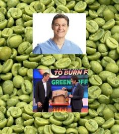 Green Coffee Bean Extract, Dr. Oz