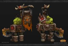 Daniel Orive - Character Artist: World of Warcraft Fan Art - Grommash Hellscream
