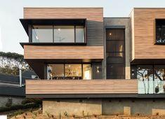 Exterior cladding – DecoClad by Decorative Imaging – Selector Wood Cladding Exterior, Aluminium Cladding, House Cladding, Timber Cladding, Facade House, House Facades, Facade Design, Fence Design, House Design