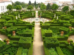 Gardens, Castelo Branco, Portugal. Not touristy at all and very beautiful! Not particularly convenient to get to but we love off the beaten path.