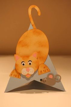 Paper Punch - Cat & Mouse