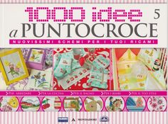 cross stitch pamphlet, loads of adorable motifs and projects