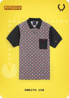 Fred Perry x Pac Man x Ten_do_Ten Project
