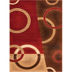 Found it at Wayfair - Wallaby Energie Pop Geometric Red Area Rug http://www.wayfair.com/daily-sales/p/Favorite-Area-Rugs-for-Less-Wallaby-Energie-Pop-Geometric-Red-Area-Rug~WWVN1146~E20544.html?refid=SBP