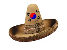 Sombrero with Korean flag on it Voice Over Ip, Korean Flag, Posts, Messages