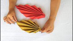 Doblar servilletas de papel - Decorar la mesa con servilletas - Serville...