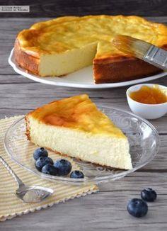Tarta de queso y yogur al limón   Comparte Recetas