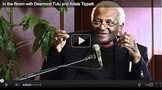 """Desmond Tutu shares his God of Surprises on Krista Tippett's spacious conversations """"On Being"""" (2/23/2012)"""