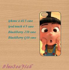 iphone 4 case,iphone 5 case,ipod touch 4 case,ipod touch 5 case,Blackberry z10 case,Blackberry q10,Despicable Me,Minion,cute iphone 5 case. by BlueSeaFish, $14.99