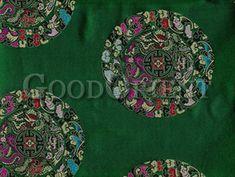 Dragon & Chinese Fu Fabric $21.98